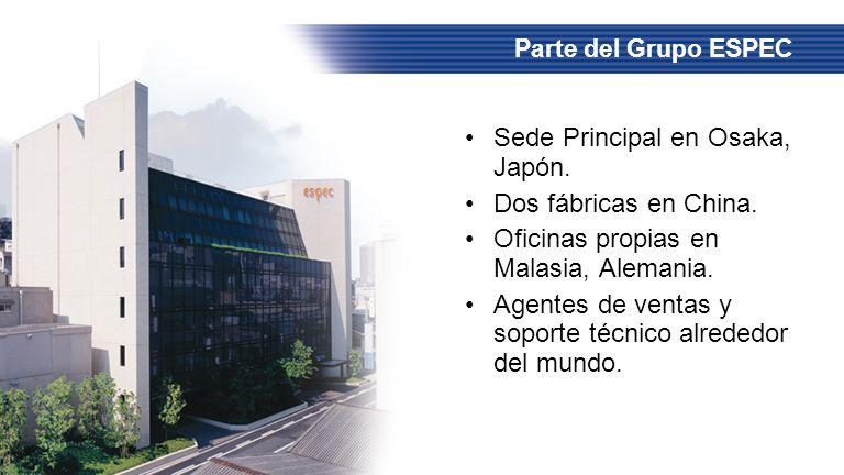 Sede Principal en Osaka, Japón. Dos fábricas en China.