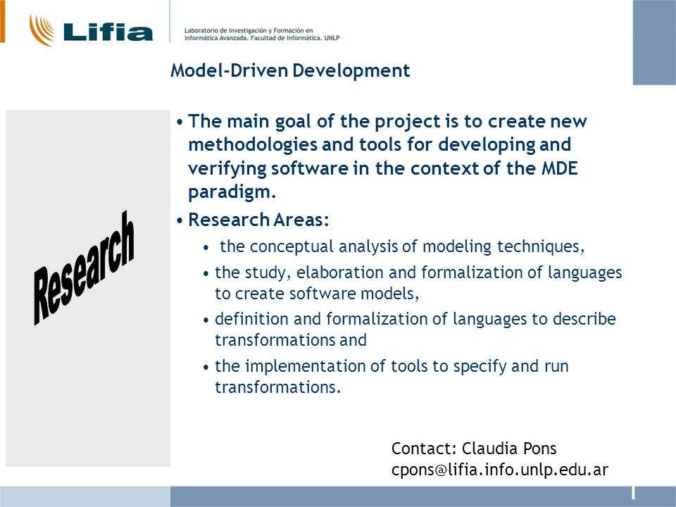 Model-Driven Development