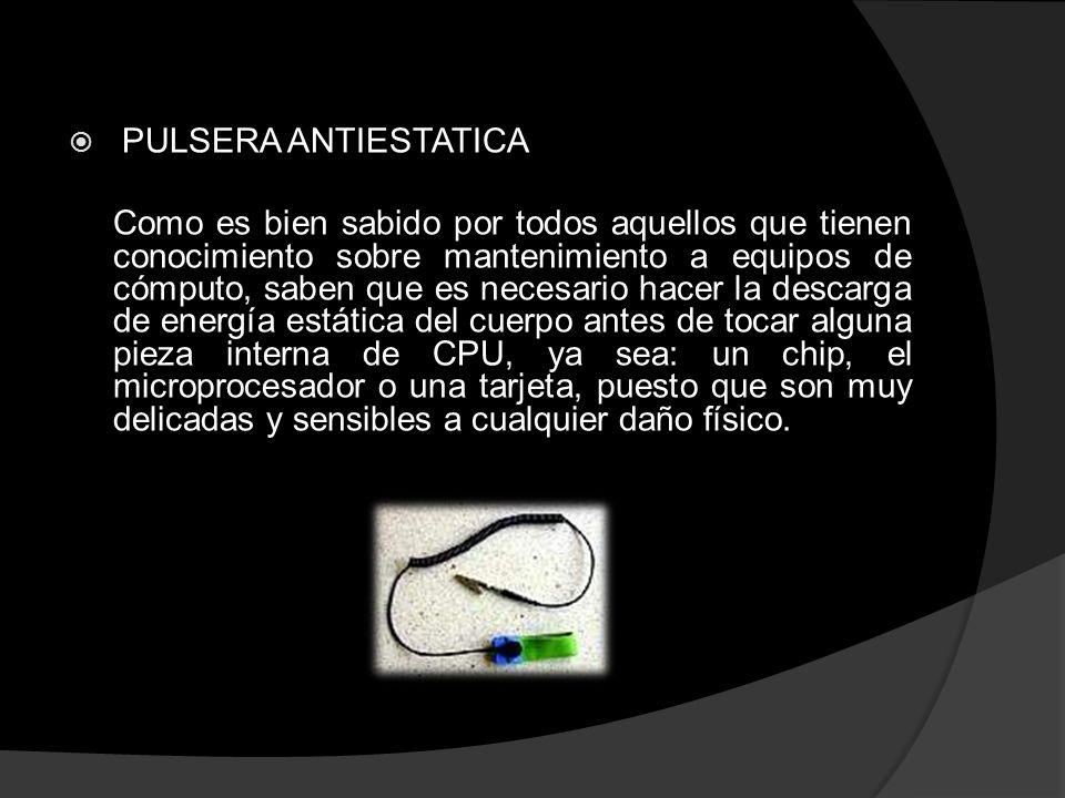 PULSERA ANTIESTATICA