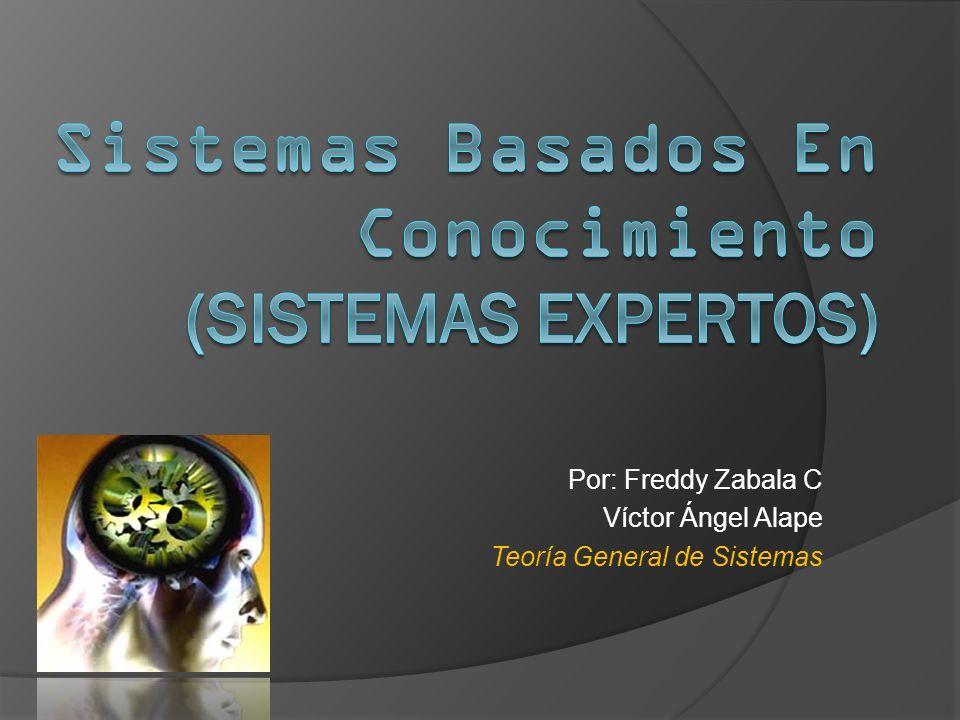 Sistemas Basados En Conocimiento (Sistemas Expertos)