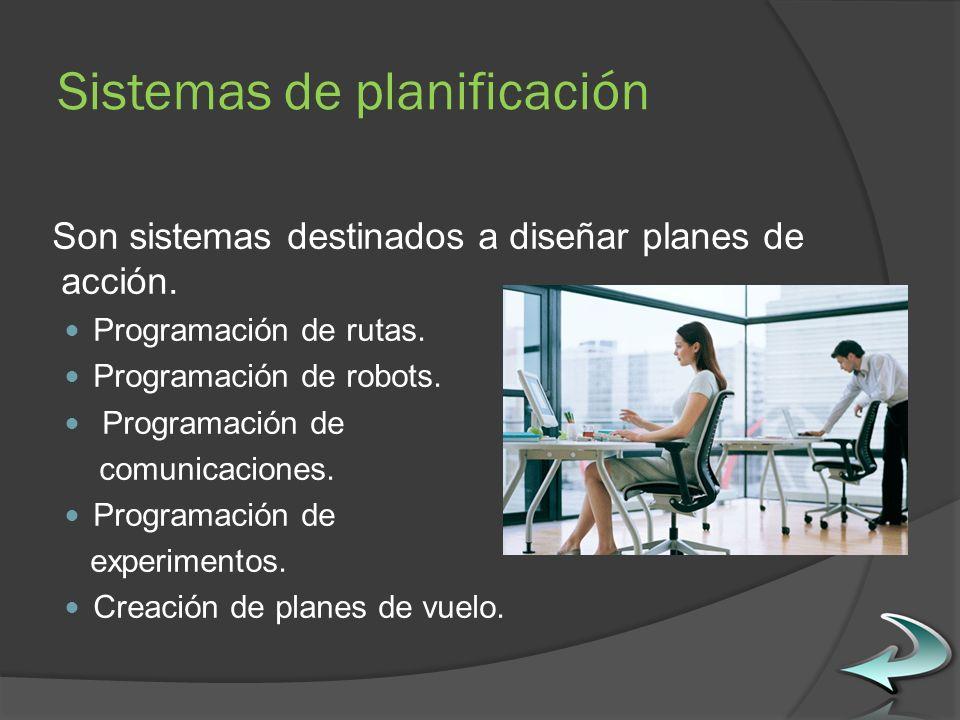 Sistemas de planificación