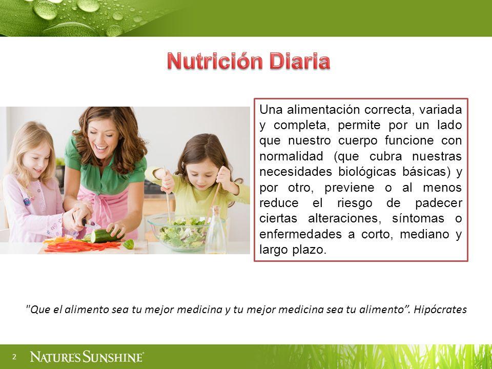 Nutrición Diaria
