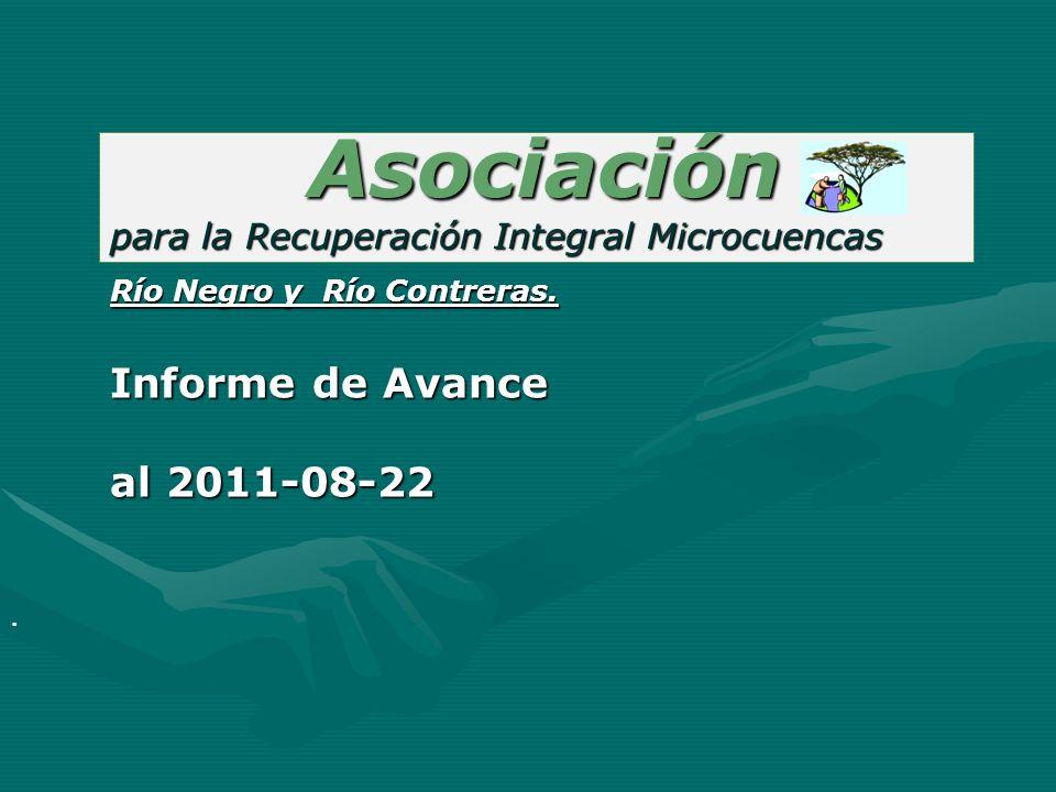 Asociación Informe de Avance al 2011-08-22