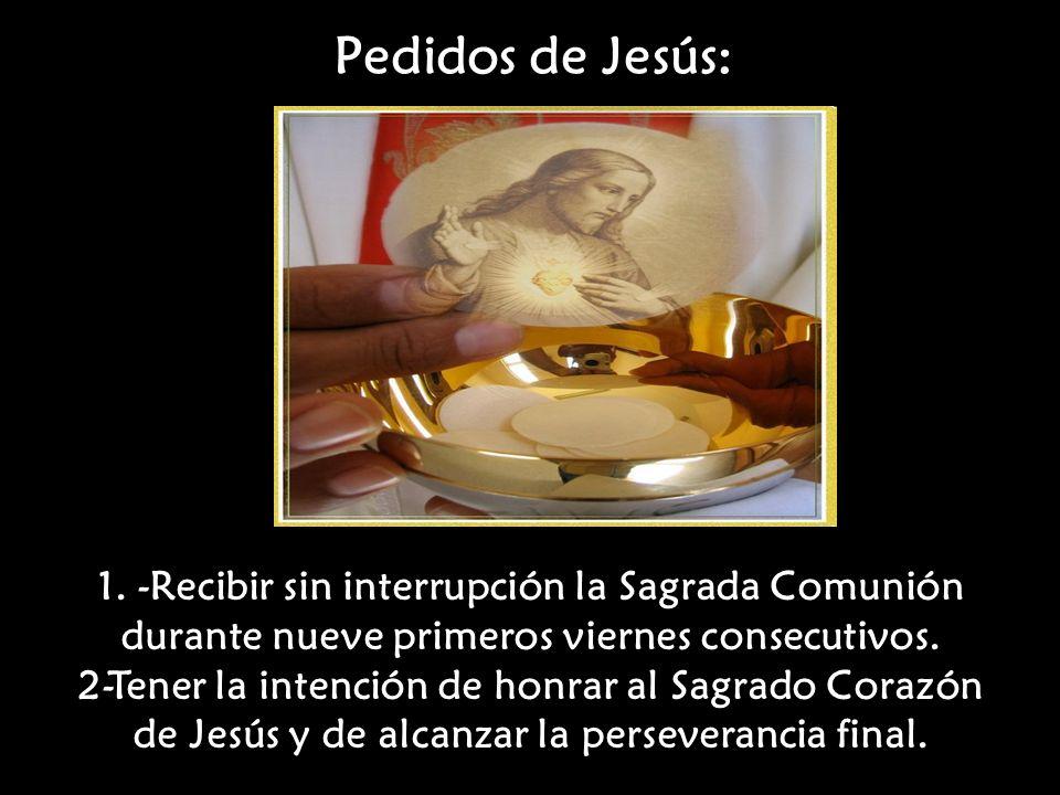 Pedidos de Jesús: