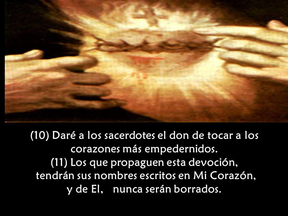 (11) Los que propaguen esta devoción,