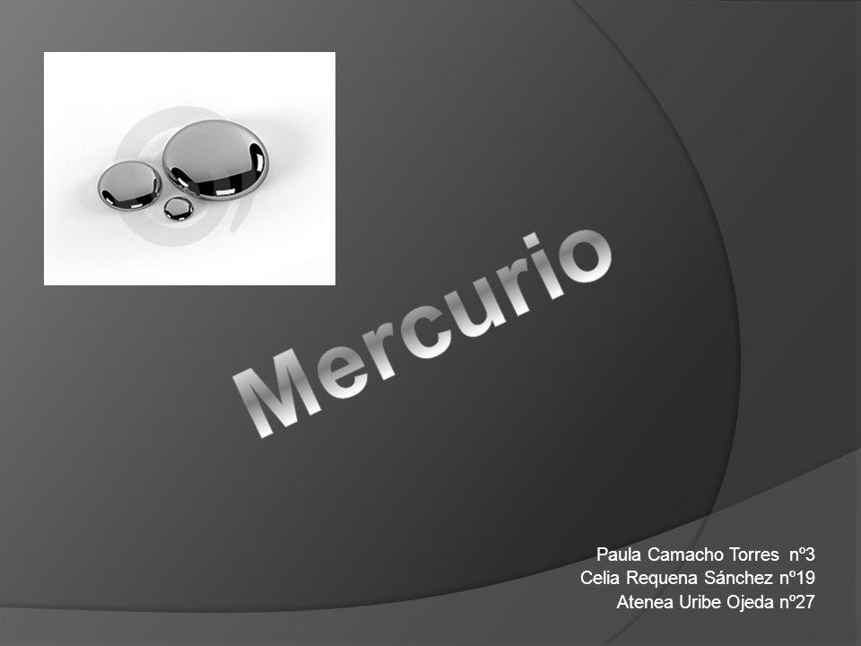 Mercurio Paula Camacho Torres nº3 Celia Requena Sánchez nº19