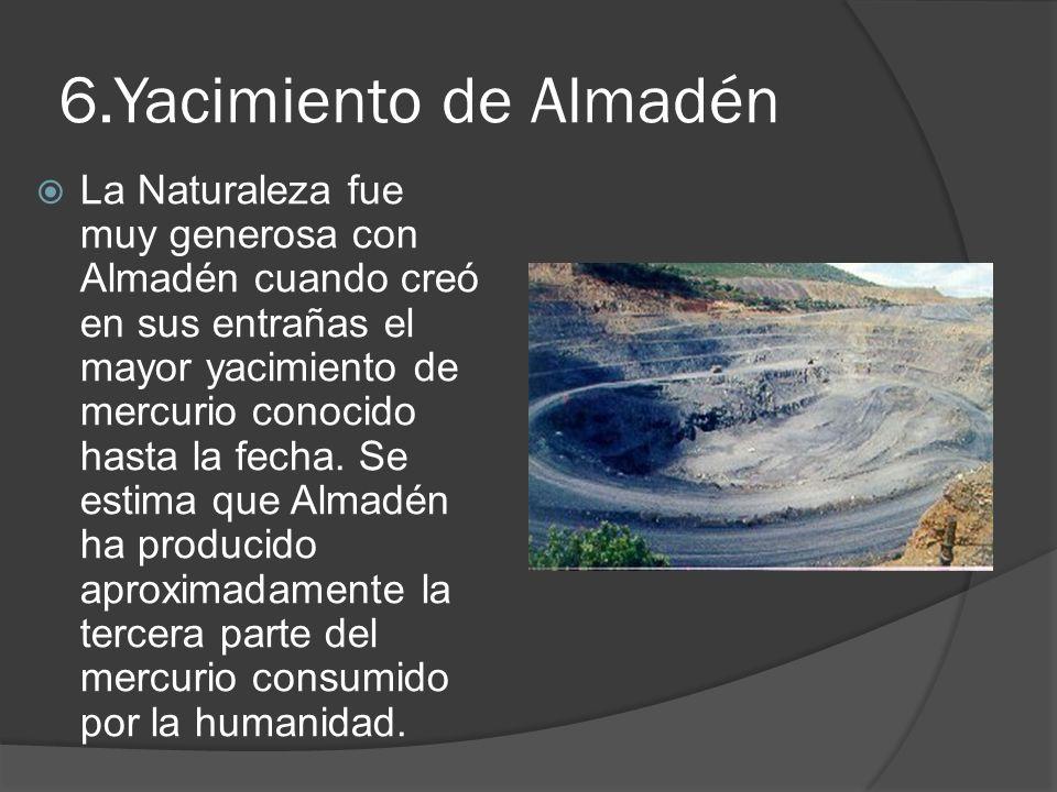 6.Yacimiento de Almadén