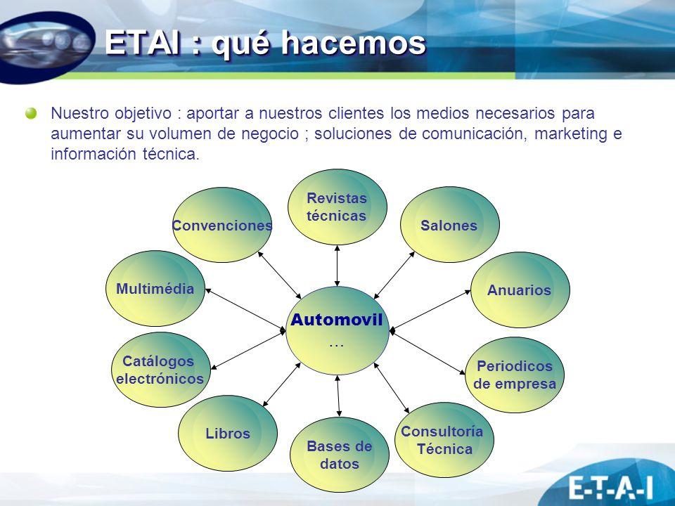 ETAI : qué hacemos