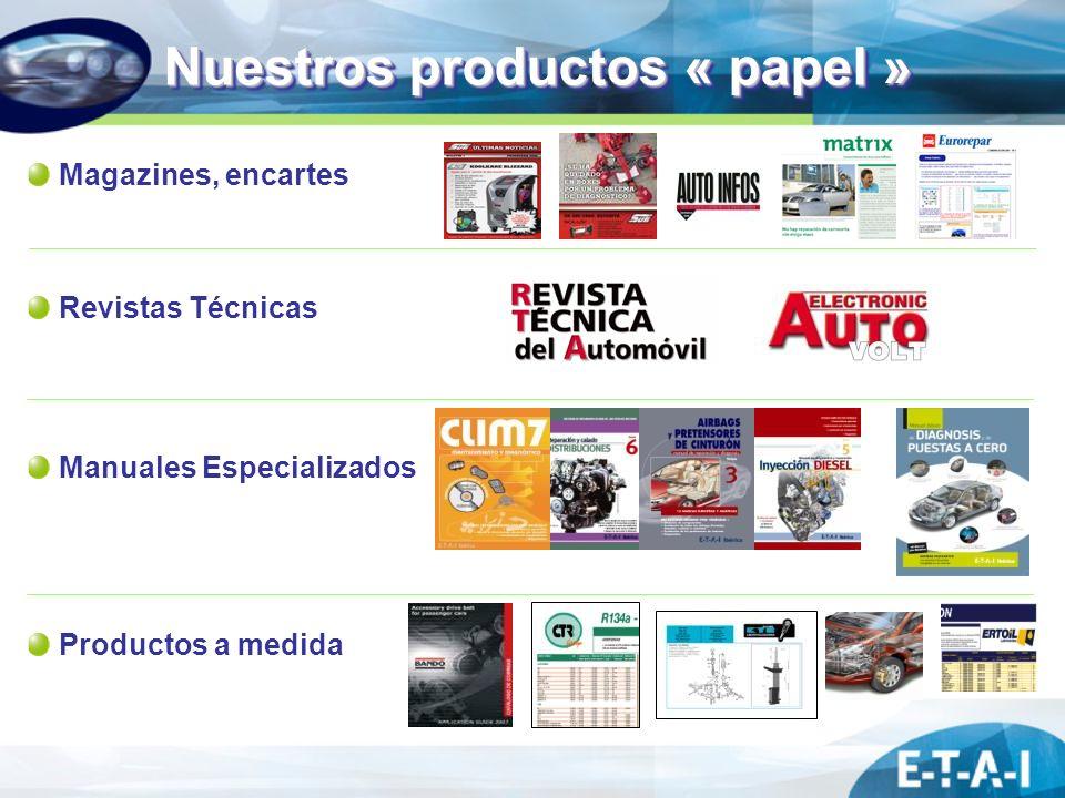 Nuestros productos « papel »