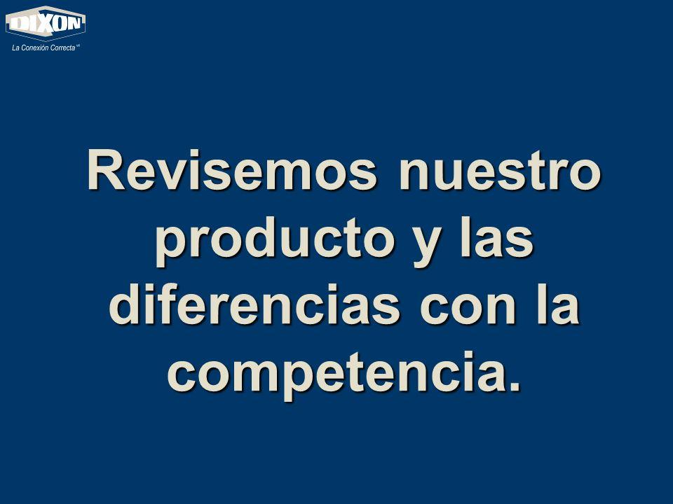 Revisemos nuestro producto y las diferencias con la competencia.