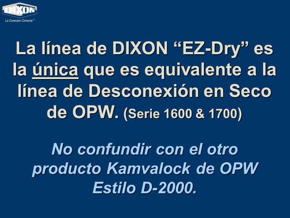 No confundir con el otro producto Kamvalock de OPW Estilo D-2000.