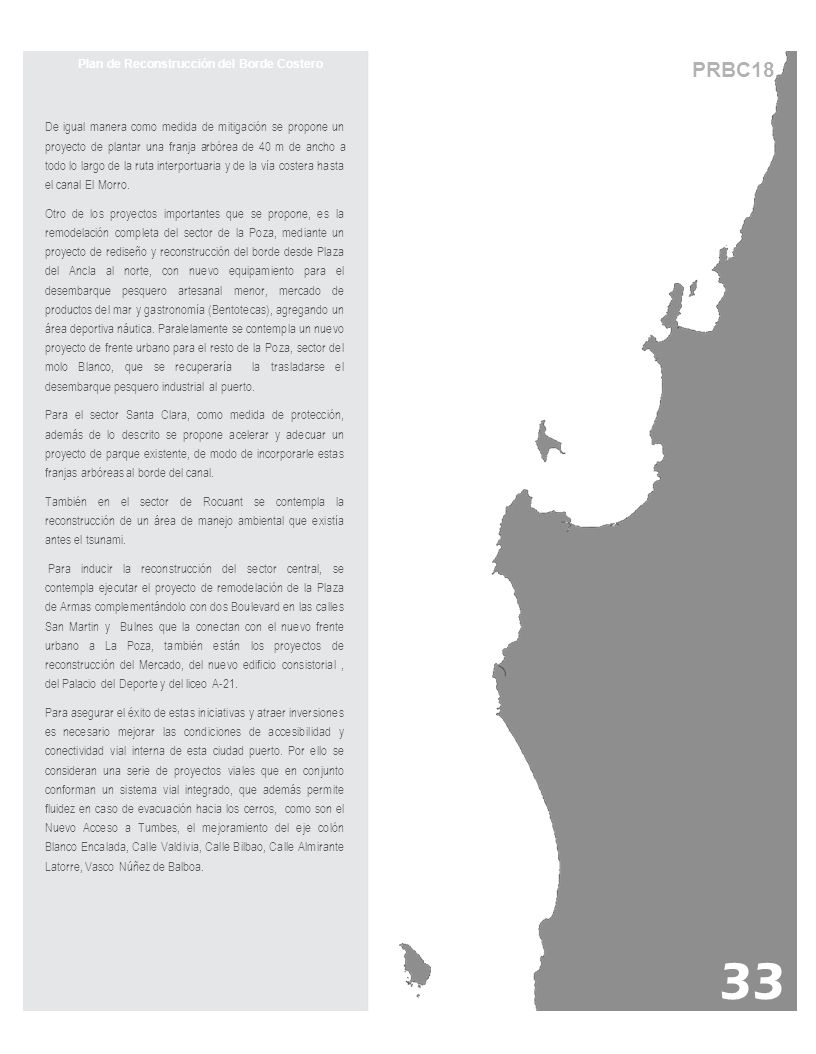 Plan de Reconstrucción del Borde Costero