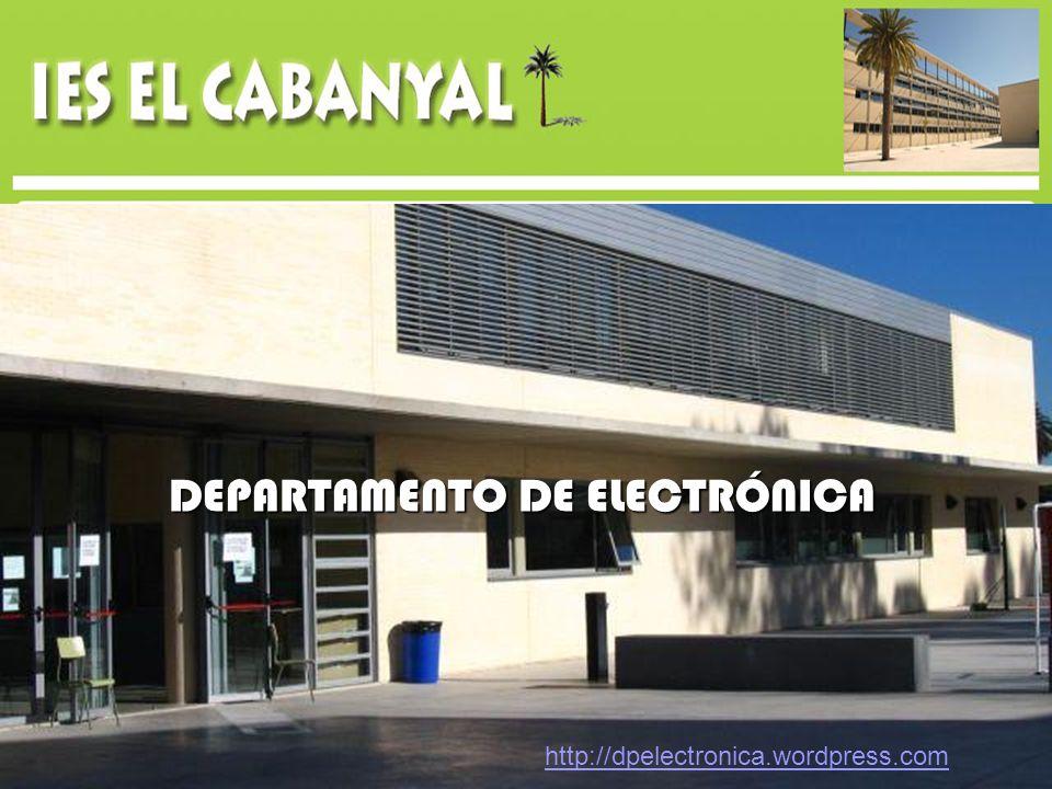 DEPARTAMENTO DE ELECTRÓNICA