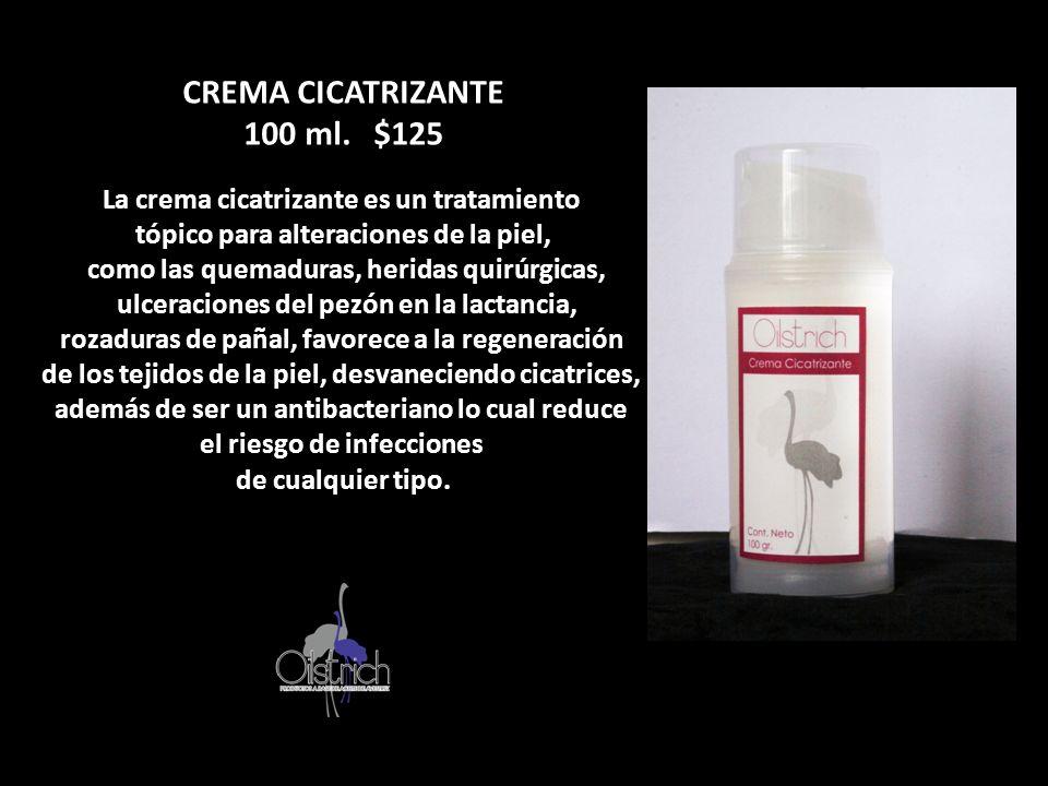 CREMA CICATRIZANTE 100 ml. $125