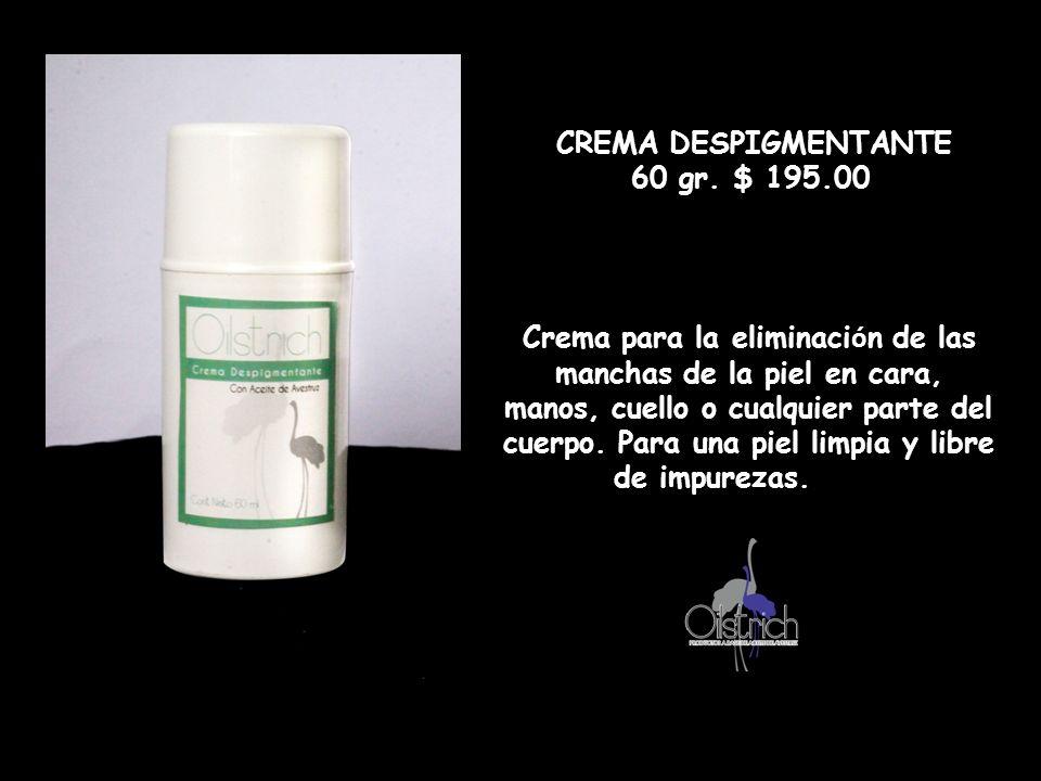 Crema para la eliminación de las manchas de la piel en cara,