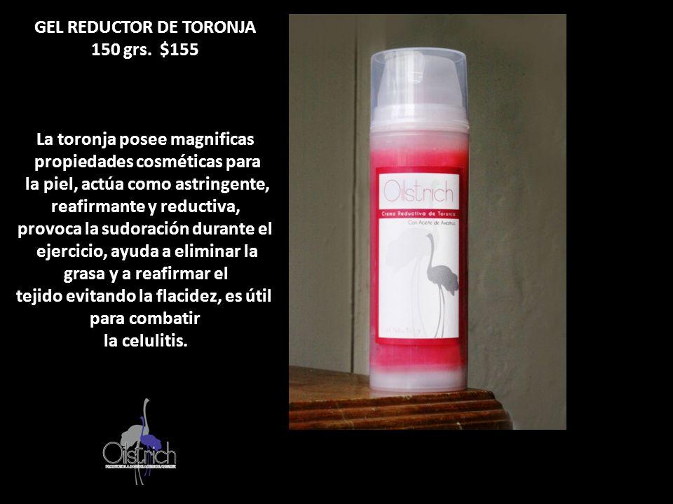 GEL REDUCTOR DE TORONJA 150 grs. $155