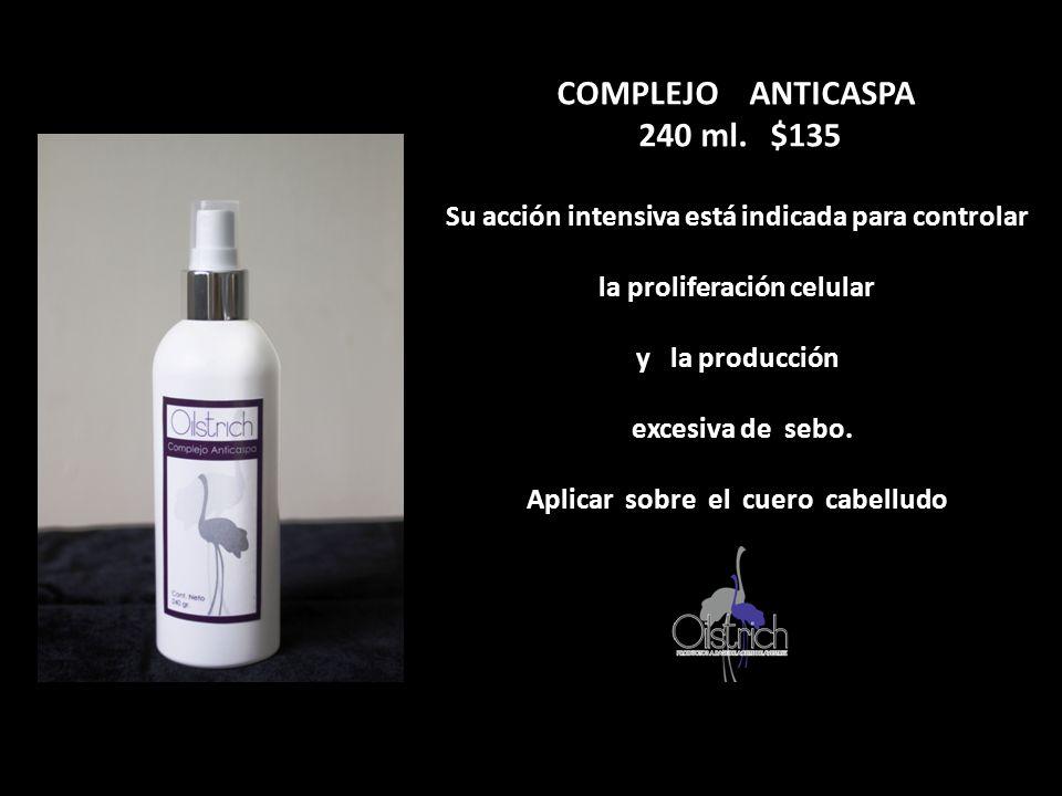 COMPLEJO ANTICASPA 240 ml. $135
