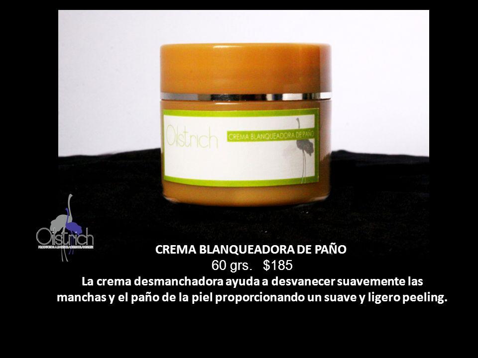 CREMA BLANQUEADORA DE PAÑO 60 grs. $185