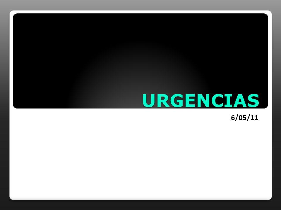 URGENCIAS 6/05/11