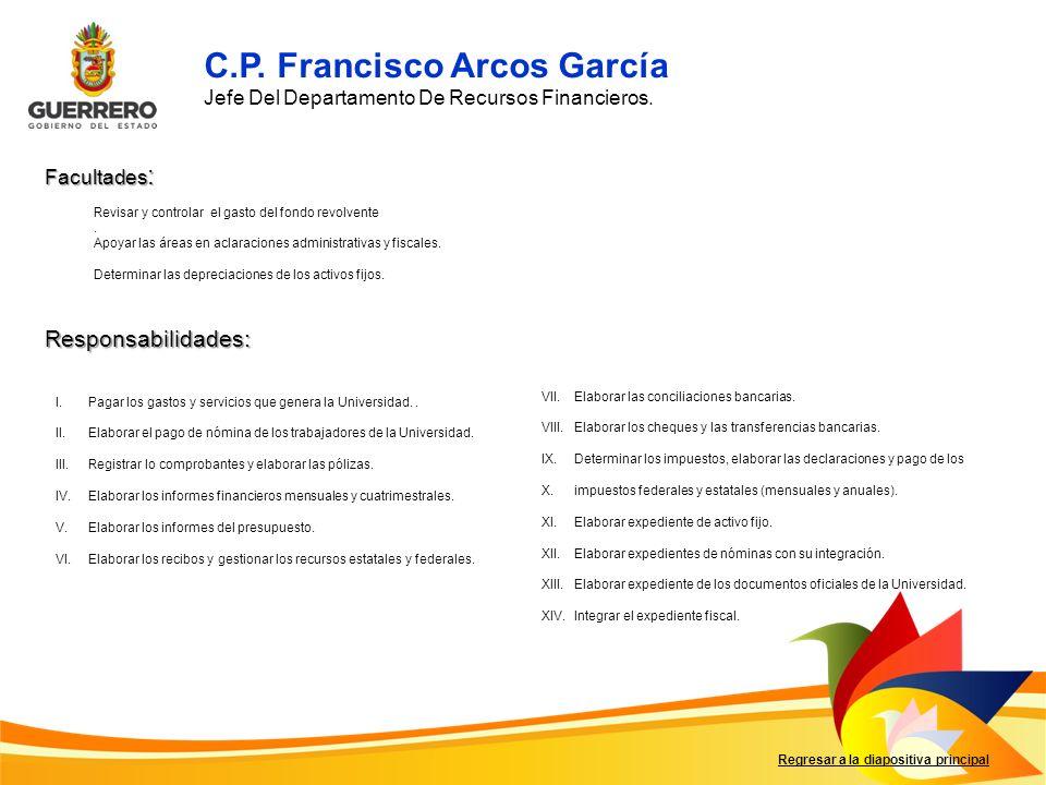 C.P. Francisco Arcos García