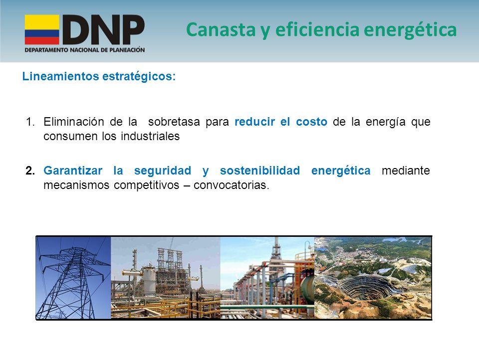 Canasta y eficiencia energética