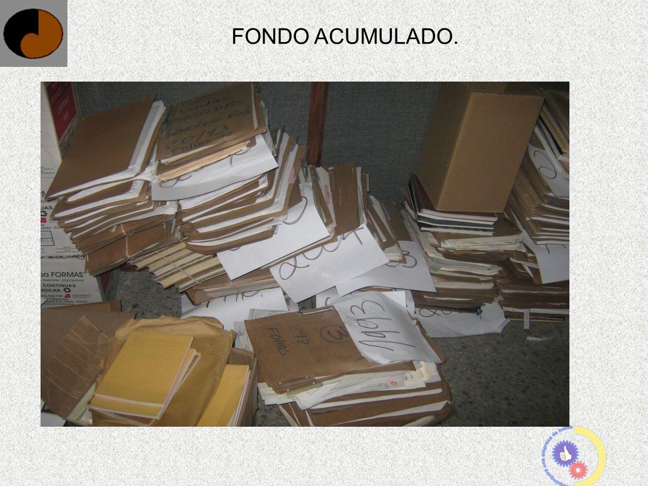 FONDO ACUMULADO.