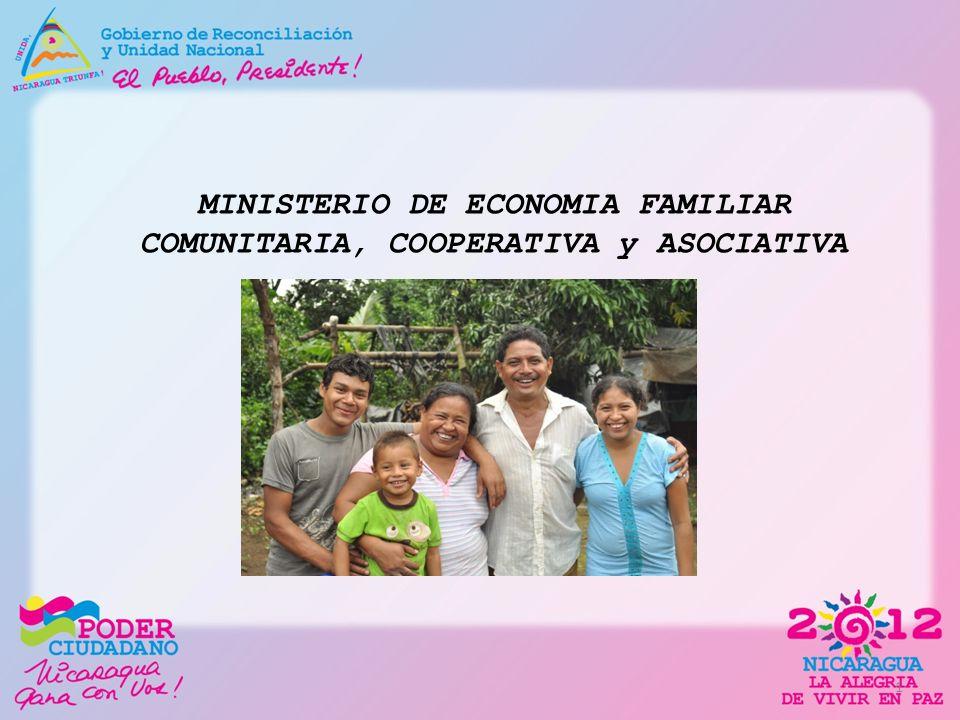 MINISTERIO DE ECONOMIA FAMILIAR COMUNITARIA, COOPERATIVA y ASOCIATIVA