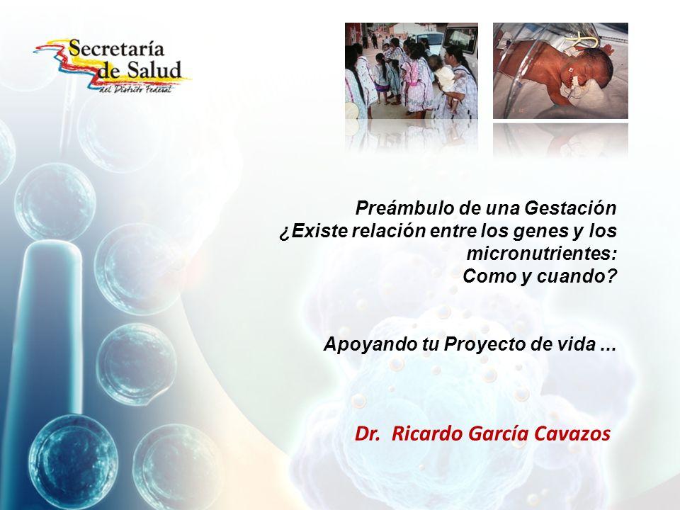 Dr. Ricardo García Cavazos