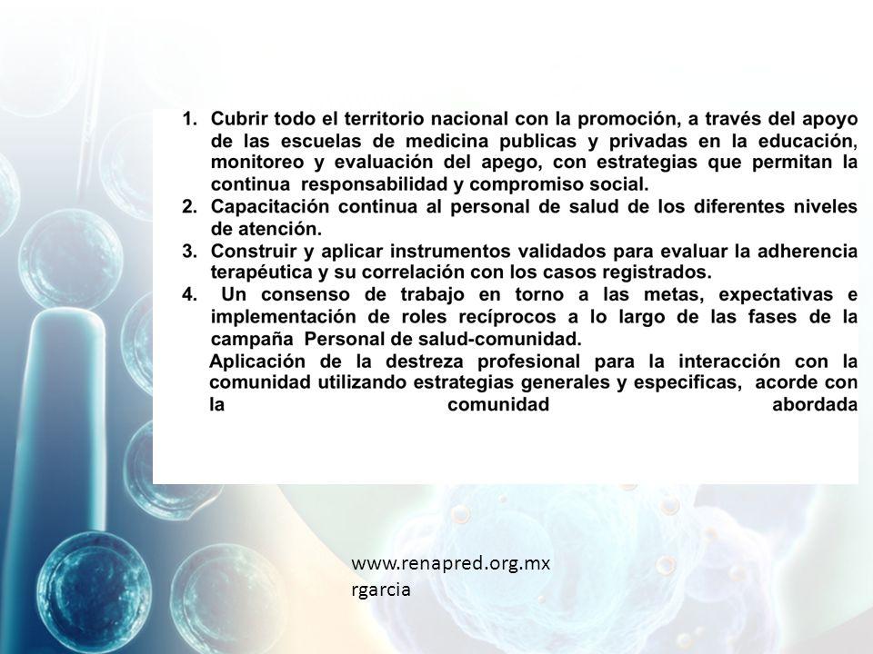 www.renapred.org.mx rgarcia