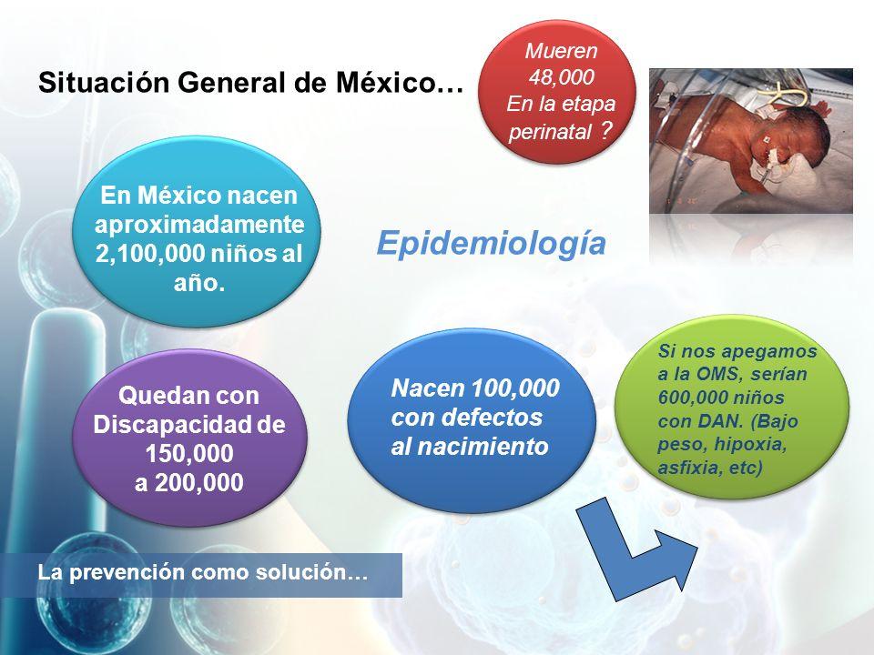 Epidemiología Situación General de México…