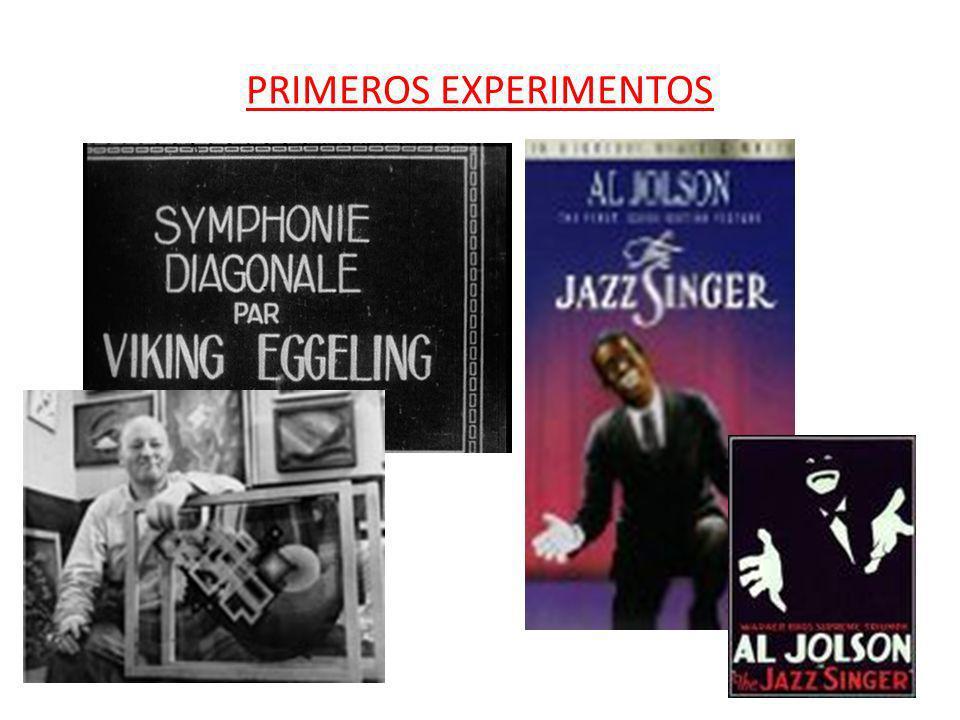 PRIMEROS EXPERIMENTOS