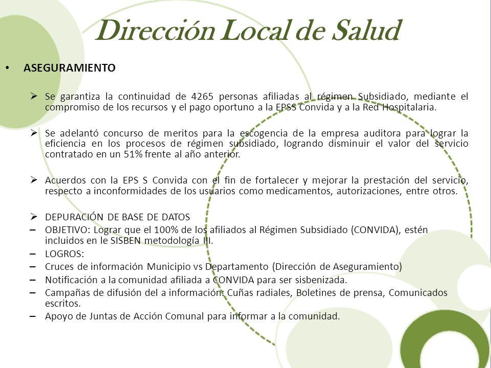 Dirección Local de Salud