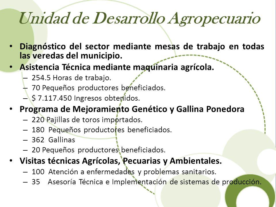 Unidad de Desarrollo Agropecuario