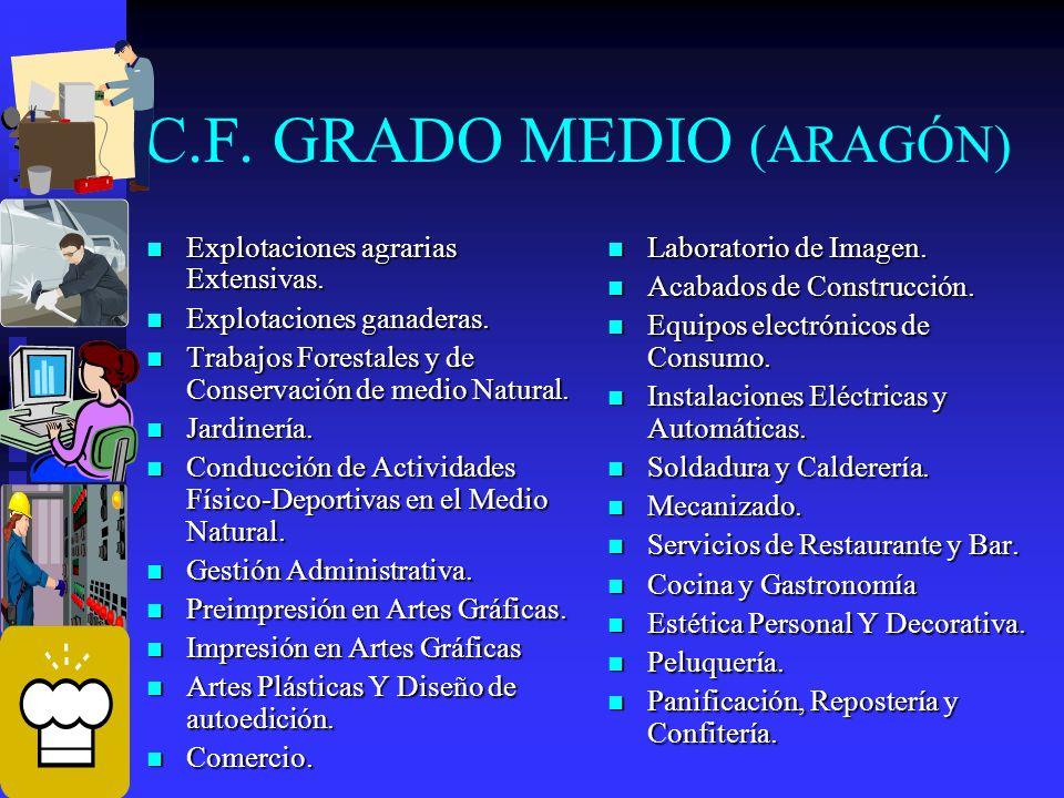 C.F. GRADO MEDIO (ARAGÓN)
