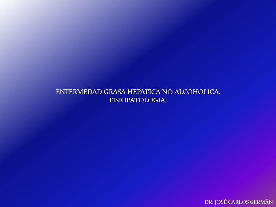 ENFERMEDAD GRASA HEPATICA NO ALCOHOLICA. FISIOPATOLOGIA.