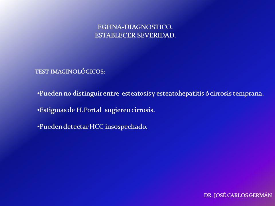 EGHNA-DIAGNOSTICO. ESTABLECER SEVERIDAD.