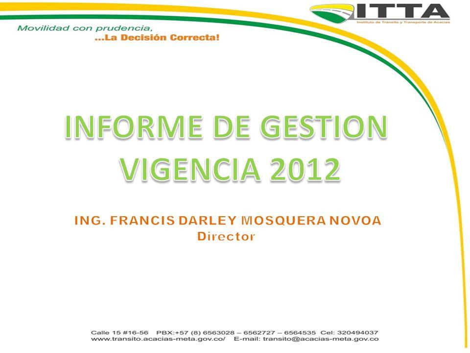 ING. FRANCIS DARLEY MOSQUERA NOVOA