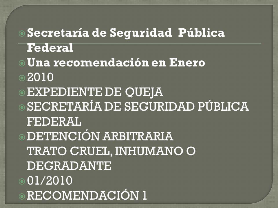 Secretaría de Seguridad Pública Federal
