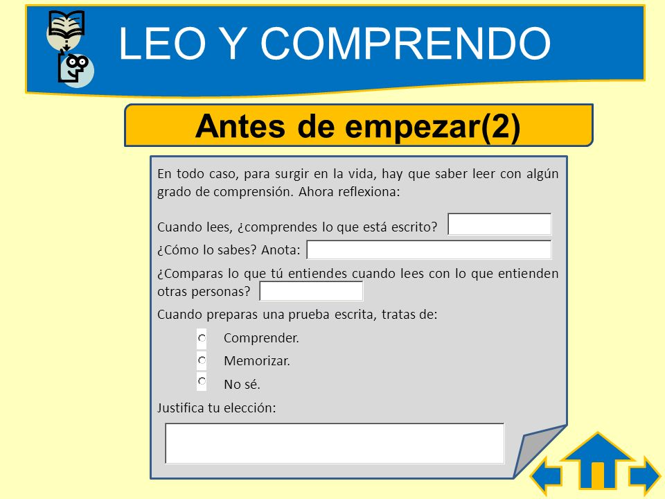 LEO Y COMPRENDO Antes de empezar(2)