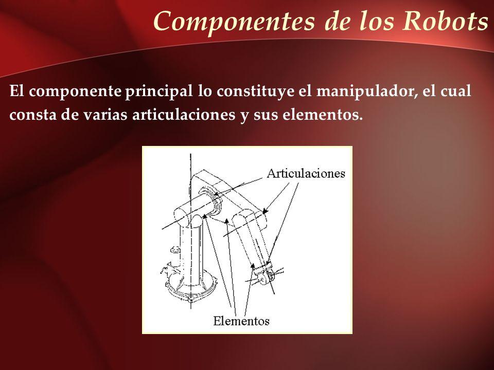 Componentes de los Robots