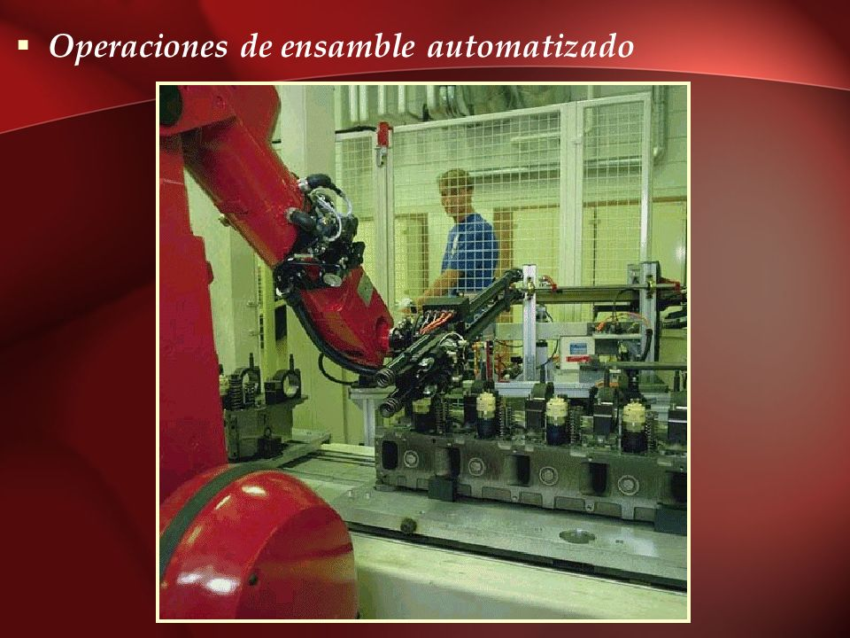 Operaciones de ensamble automatizado