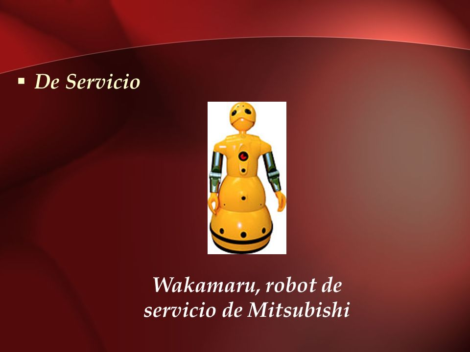 Wakamaru, robot de servicio de Mitsubishi