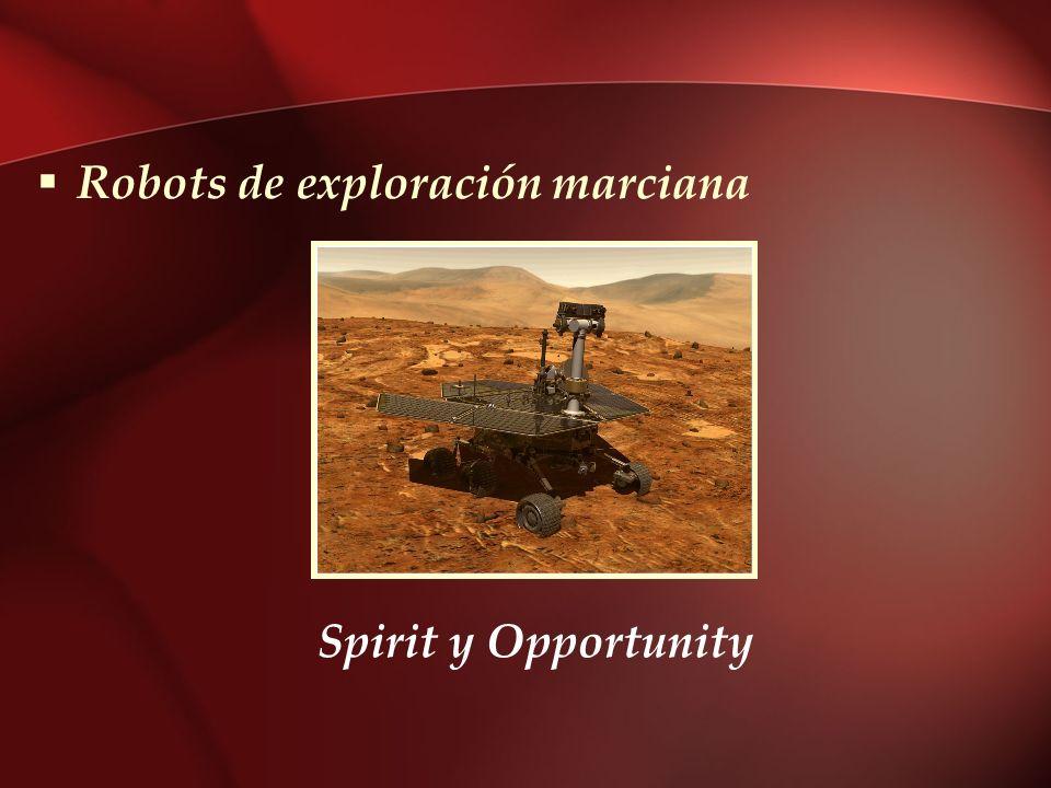 Robots de exploración marciana