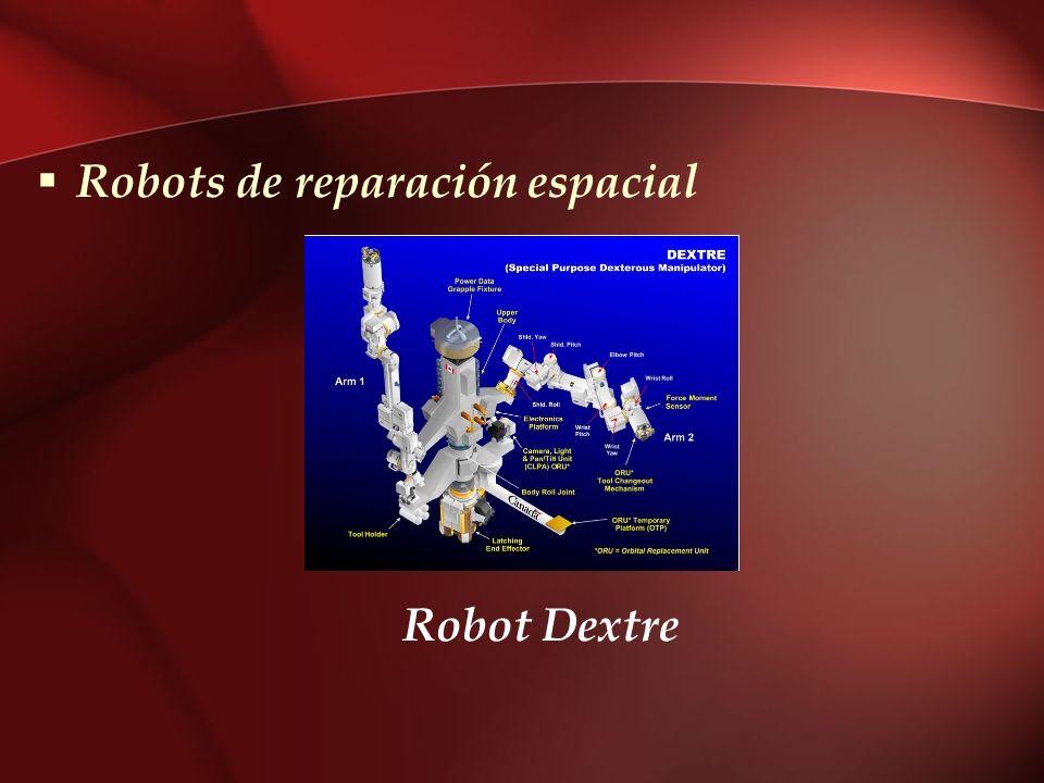 Robots de reparación espacial