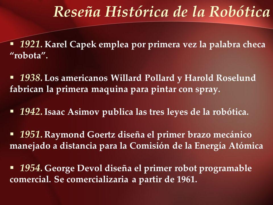 Reseña Histórica de la Robótica
