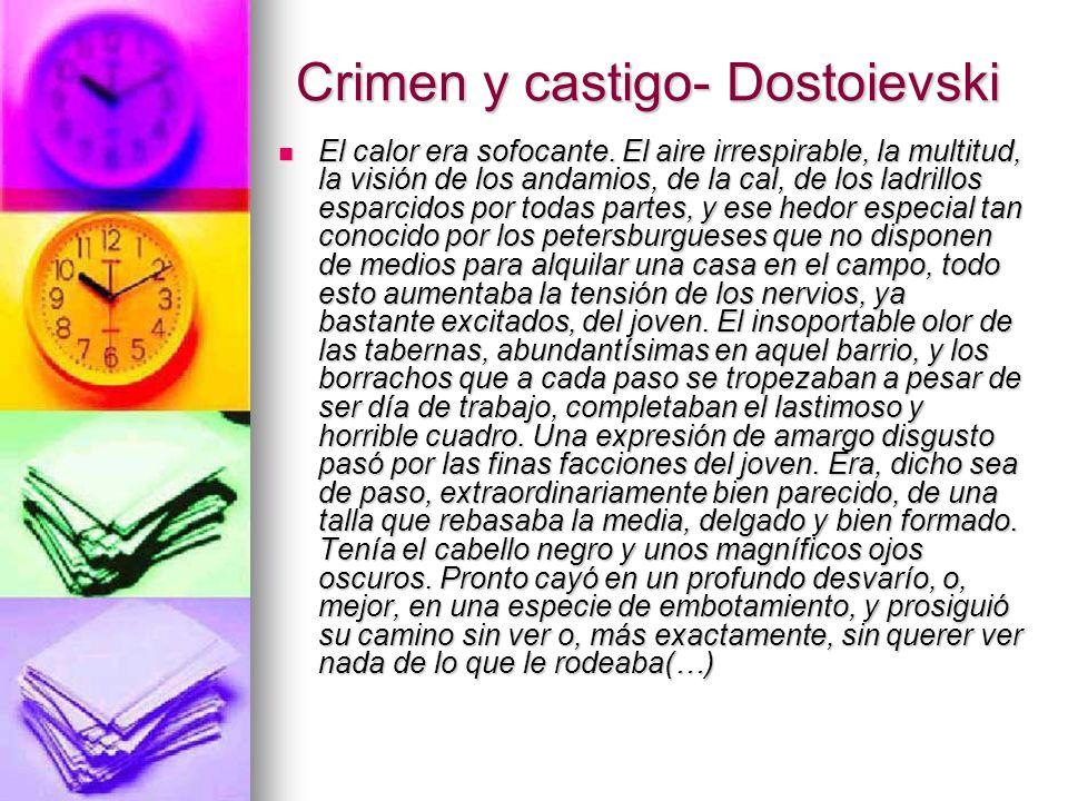 Crimen y castigo- Dostoievski