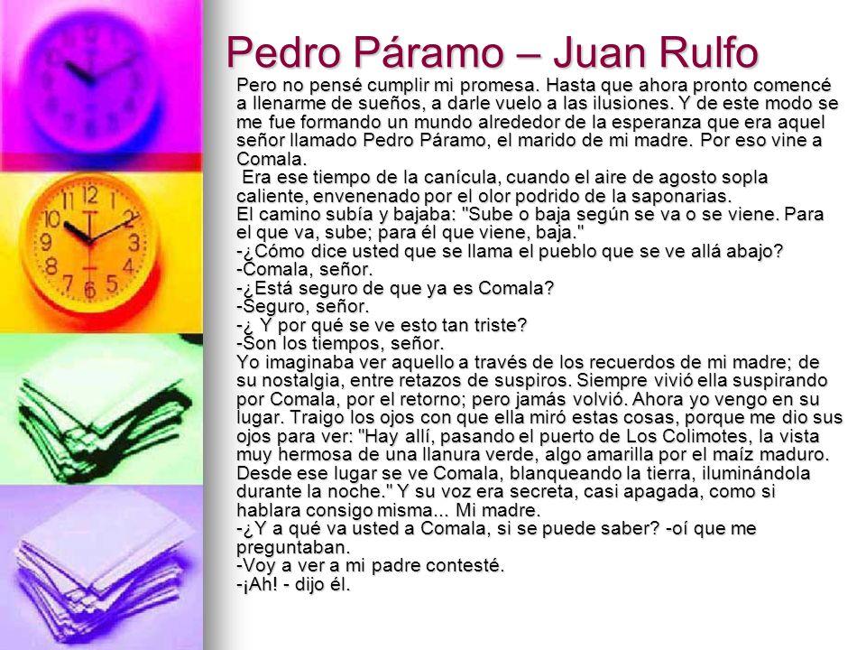 Pedro Páramo – Juan Rulfo