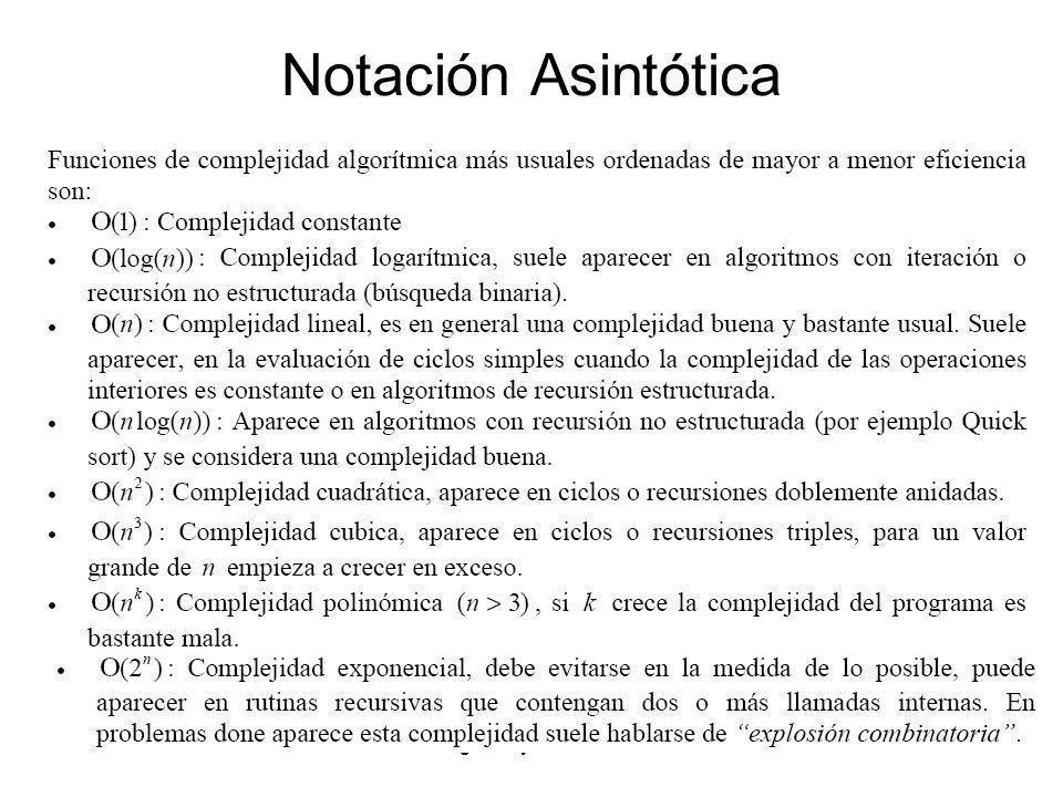 Notación Asintótica Hugo Araya Carrasco