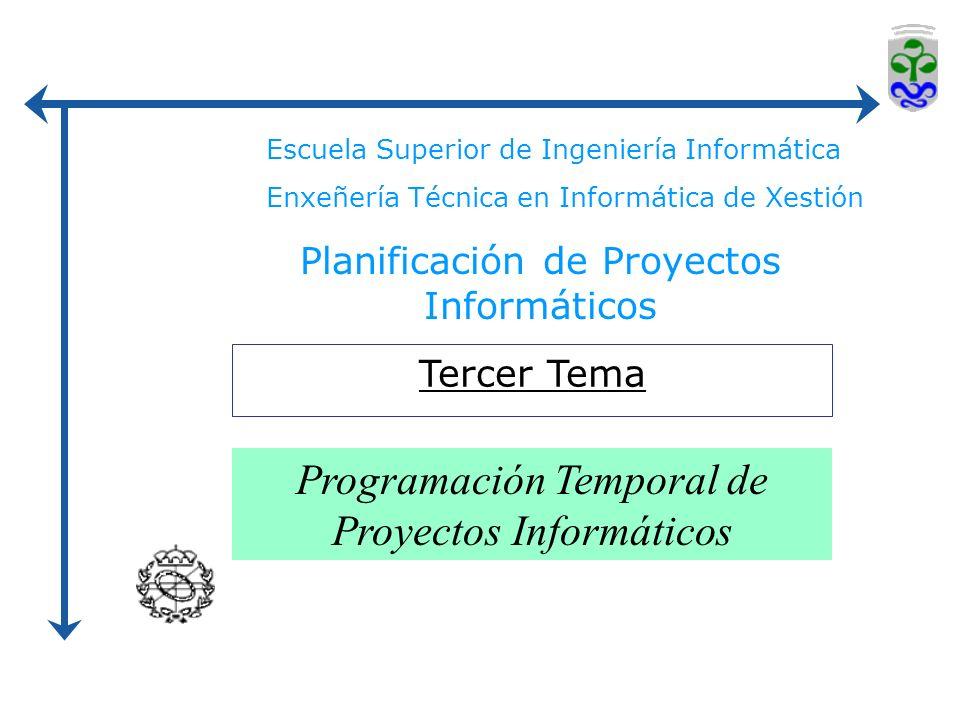Programación Temporal de Proyectos Informáticos