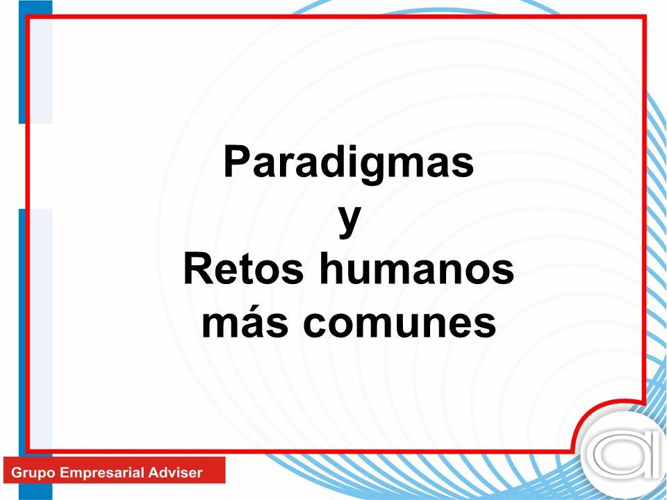 Paradigmas y Retos humanos más comunes